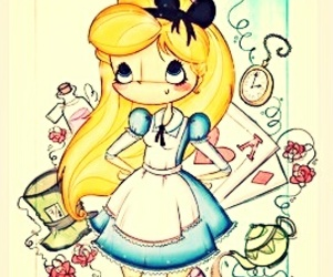 alice, girl, and pretty image