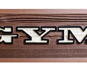 wood plaque, personalized wooden signs, and name plaque image