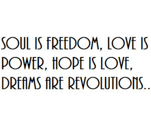 Dream, freedom, and hope image