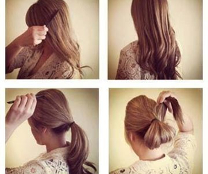 Easy, hair, and tutorial image