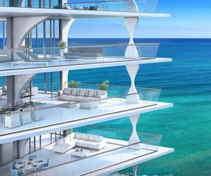sea, luxury, and beach image