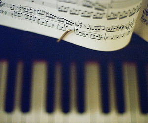 piano, music, and note image