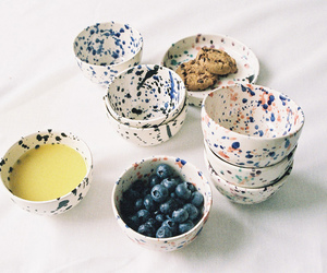beautiful, berries, and cookie image