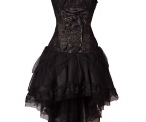 dress and goth image
