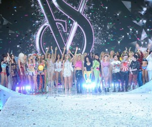 angels, fashion show, and models image