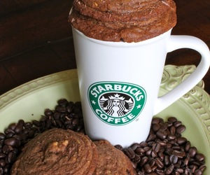 starbucks, coffee, and Cookies image