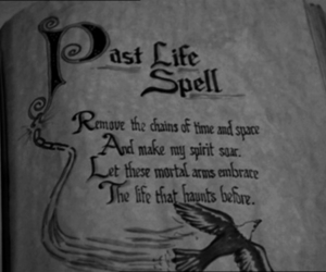 spell, life, and magic image