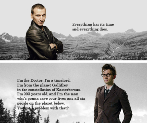 doctor who, nine, and quotes image