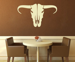 cow, decal, and handmade image