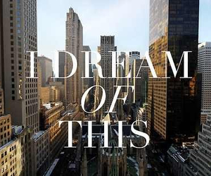 Dream, new york, and city image