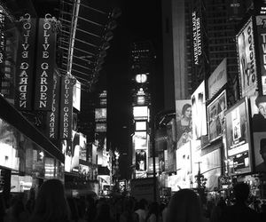 new york, ny, and times square image