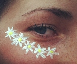 eye, girl, and summer image