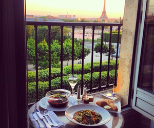 paris, food, and city image