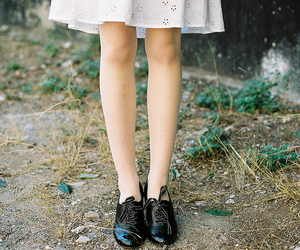 shoes, girl, and vintage image