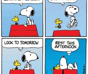 snoopy, peanuts, and funny image
