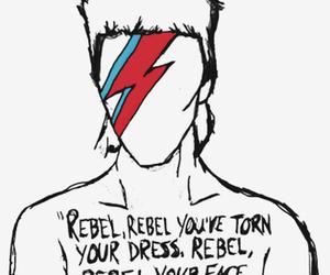 david bowie and rebel rebel image