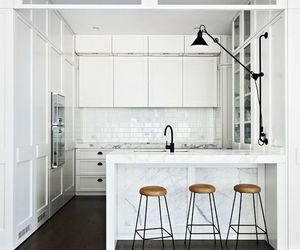 home, kitchen, and white image