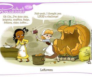 disney, pocket princesses, and cinderella image