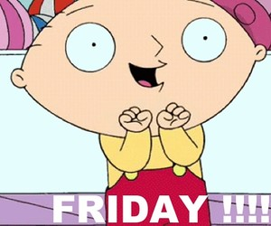 family guy, friday, and happy image