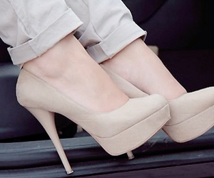 addiction, love shoes, and beige image