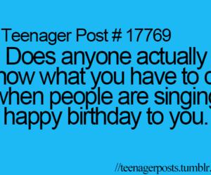 teenager post, birthday, and happy birthday image