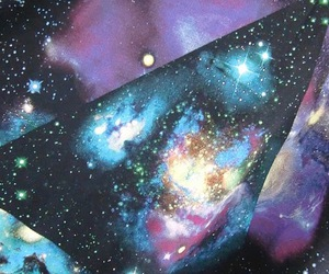 space, t-shirt, and cosmic love image