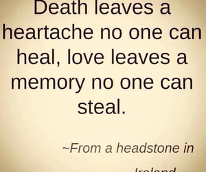 death, love, and quote image