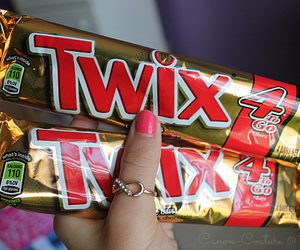 Twix, candy, and chocolate image