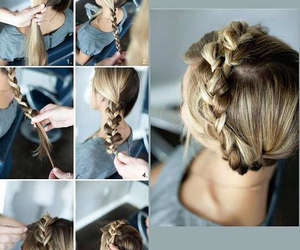 beautiful, blond, and braid image