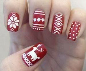 ♡, winter nails, and love these image
