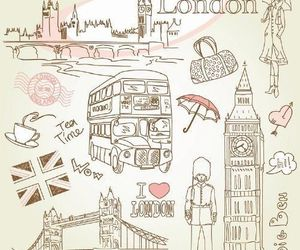 britain, bus, and girl image