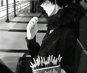 anime, pocky, and boy image