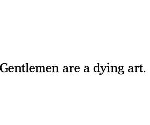 gentleman, quote, and sad image