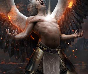 angel and man image