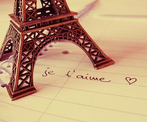 paris, love, and je t'aime image