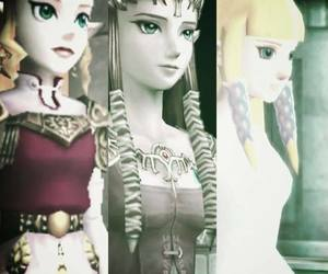 the legend of zelda, zelda, and twilight princess image