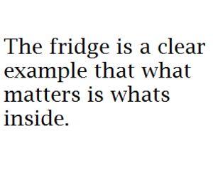 fridge, quote, and food image
