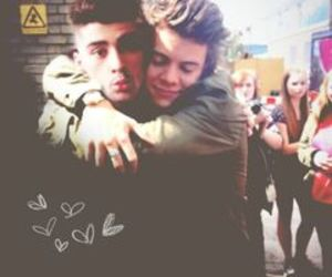 <3, zayn, and one direction image