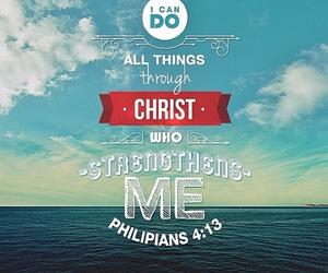 christian, jesus, and god image