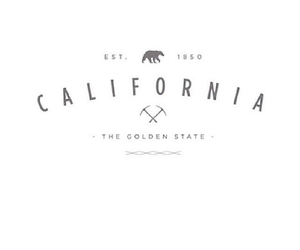 california, text, and state image