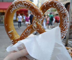 pretzel, food, and photography image