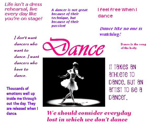 dance, quotes, and girl image