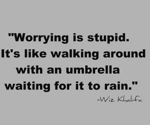 quotes, wiz khalifa, and rain image