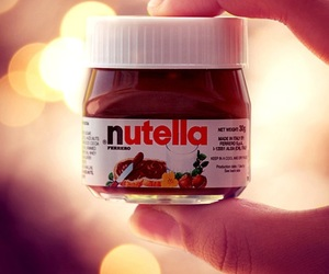 nutella, chocolate, and delicious image