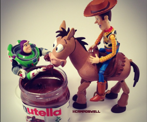 chocolate, nutella, and toystory image