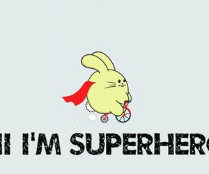 superhero and ♥.' image