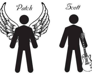 patch, scott, and hush hush image