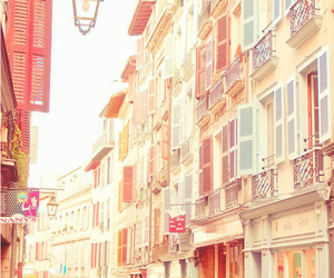 pastel, street, and house image