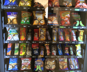 candy, food, and vending machine image