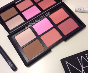 blush, makeup, and nars image